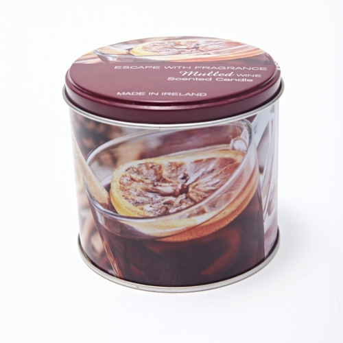 Home Decorative Tin Box Candle