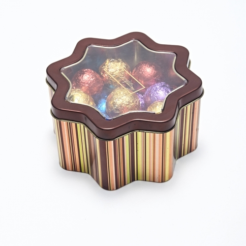 Cookie Irregular Metal Box