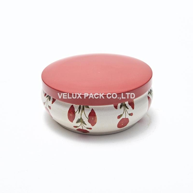 Wholesale Candle Box Metal tin Packaging Box Tin Cans
